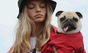 duurzame regenjassen honden Una Terra