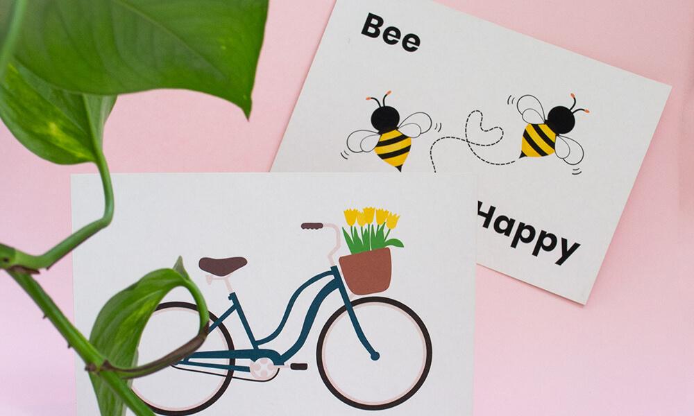 Plantaardige kaarten PaperWise