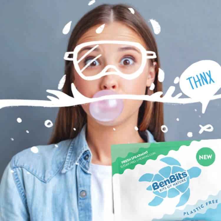BenBits plasticvrije kauwgom