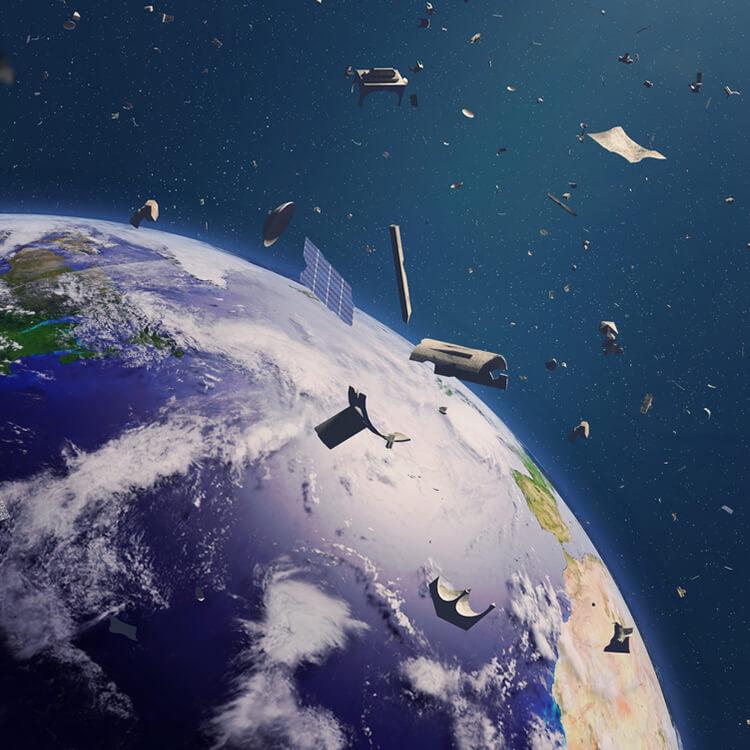 ruimte afval
