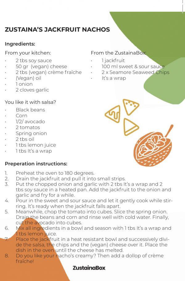 Tekst jackfruit nachos ZB recept