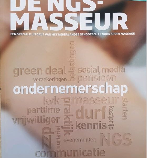 Voorpagina De NGS Masseur nr 4 2019