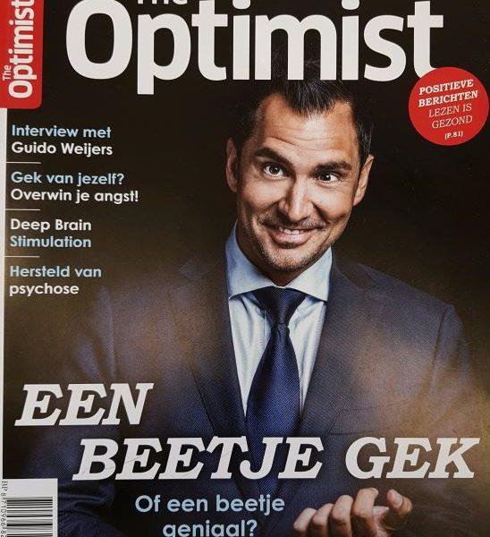 Voorpagina The Optimist juli aug 2021