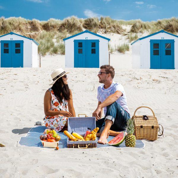 duurzame horeca aan het strand