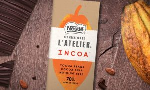 pure chocolade van cacaovrucht Incoa Nestlé