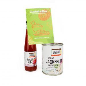 Fairtrade Jackfruit en sweet chili saus