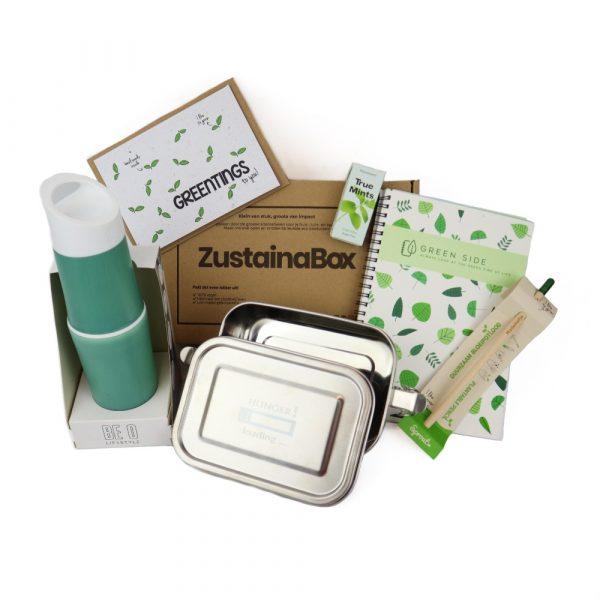 Kantoorbox met lunchpakket