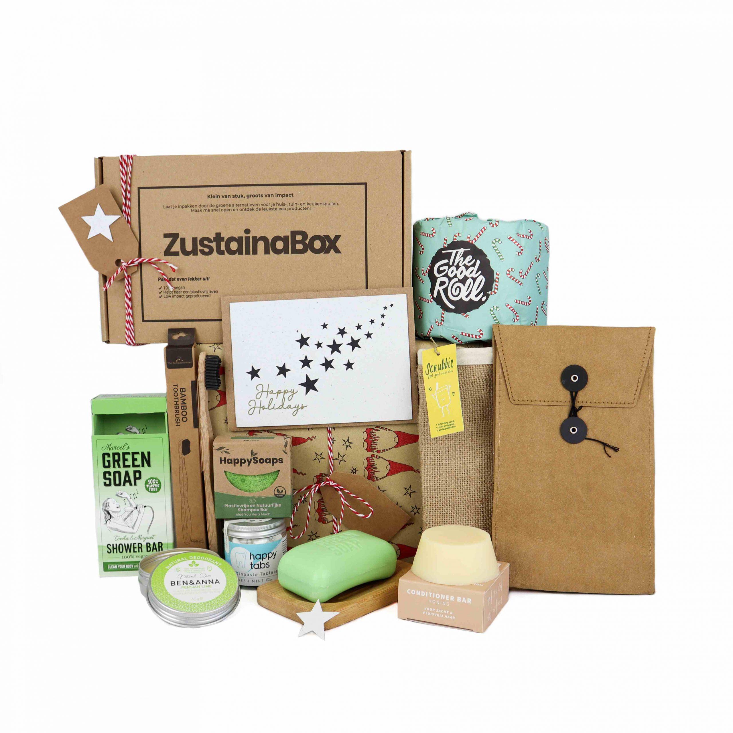 Kerst CareBox (Duurzaam Kerstpakket) - Zustainabox
