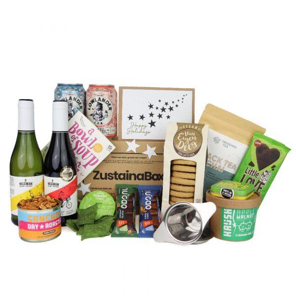 Super Organic KerstBox (duurzaam kerstpakket) Zustainabox