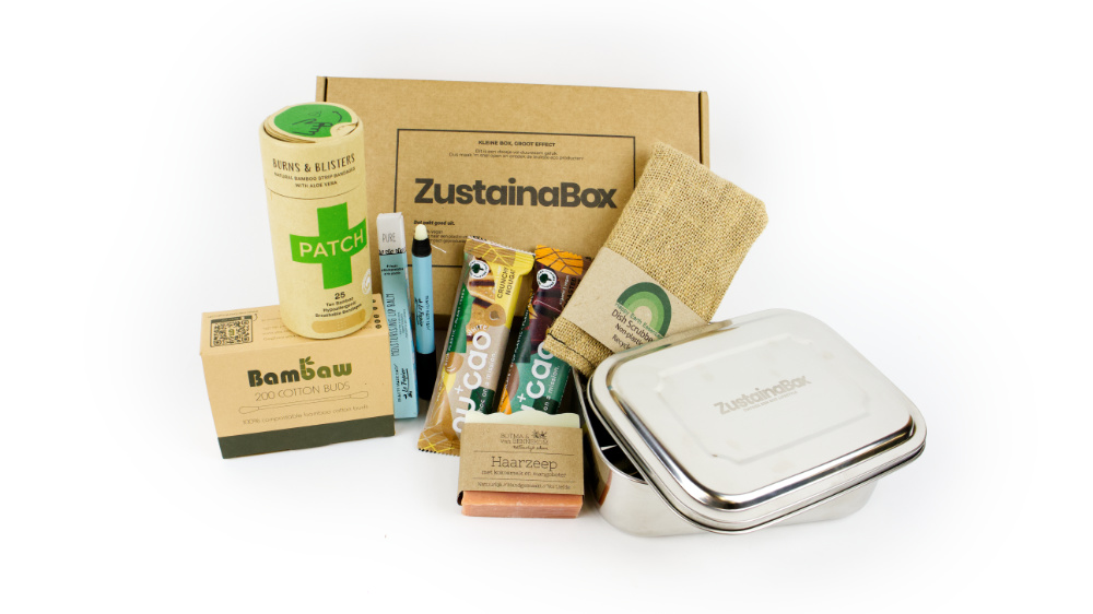 ZustainaBox duurzame producten Carrie premium