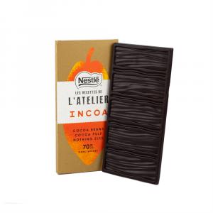 Pure chocolade van Nestlé Incoa