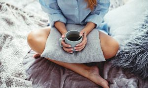 zuivere koffie drinken