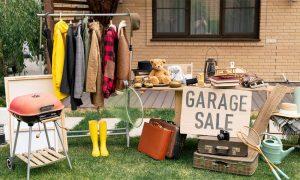 Tips om geld te besparen garage sale